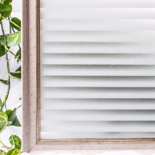CottonColors PVC Waterproof Window Films Privacy Home Decor No Glue 3D Static Decorative Window Glass Sticker