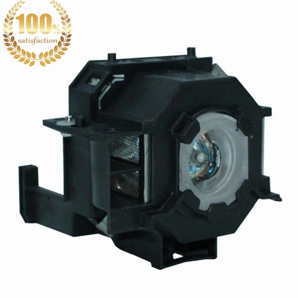 WoProlight ELPLP41 / V13H010L41 Vervangingslamp met behuizing Voor - Home audio en video - Foto 2