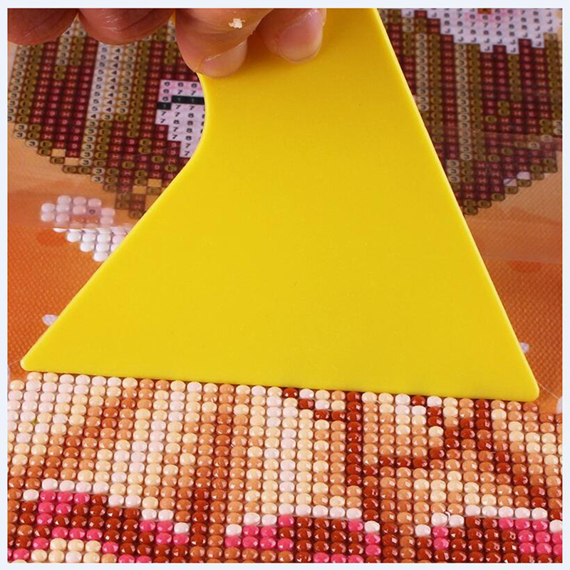 New Diamond painting Tool Correction Rhinestone Neat Square Round Diamond Universal Tool Plastic Plate in Diamond Painting Cross Stitch from Home Garden