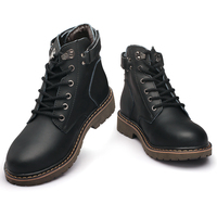 Hot Sale Men Boots 2017 Autumn Winter Leather Casual Shoes Mens Oxfords Fashion Model Genuine Leather