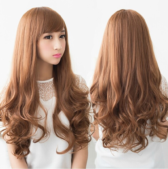 The Girl Long Fluffy Matte High Temperature Wire Ms Big Wave Curly