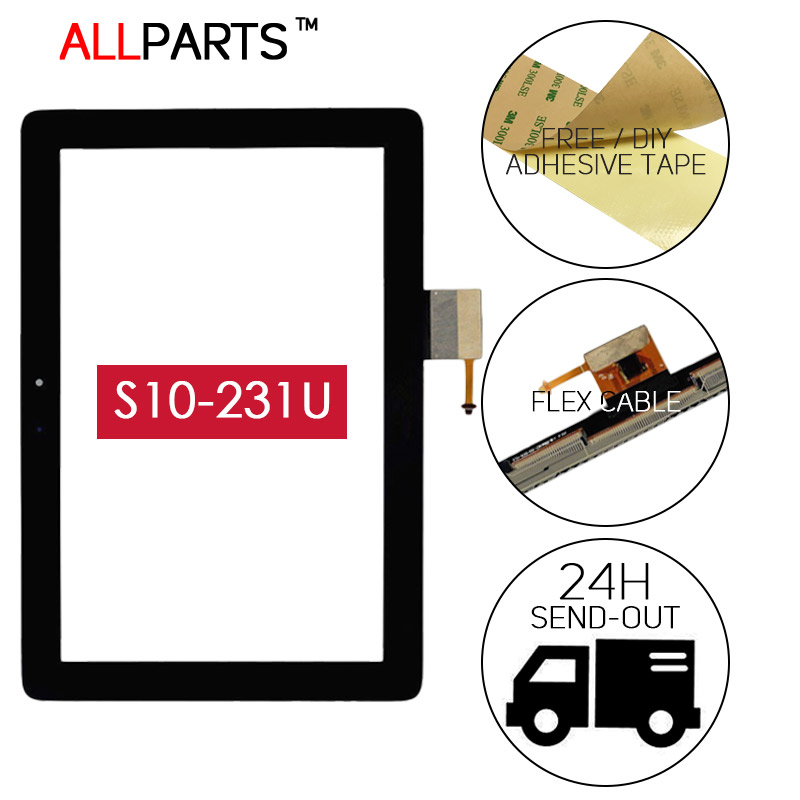 ORIGINAL TESTED 10.1 inch Tablet PC Touch Screen For HUAWEI MediaPad 10 Link Touch Screen Digitizer S10-201U S10-201 S10-231