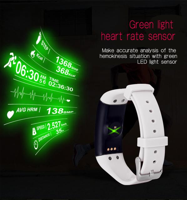 Original! DFit D21 Smartband Mergulho À Prova D' Água Banda Inteligente Pulseira Saúde Monitor de Freqüência Cardíaca de Fitness Rastreador para Android e iOS
