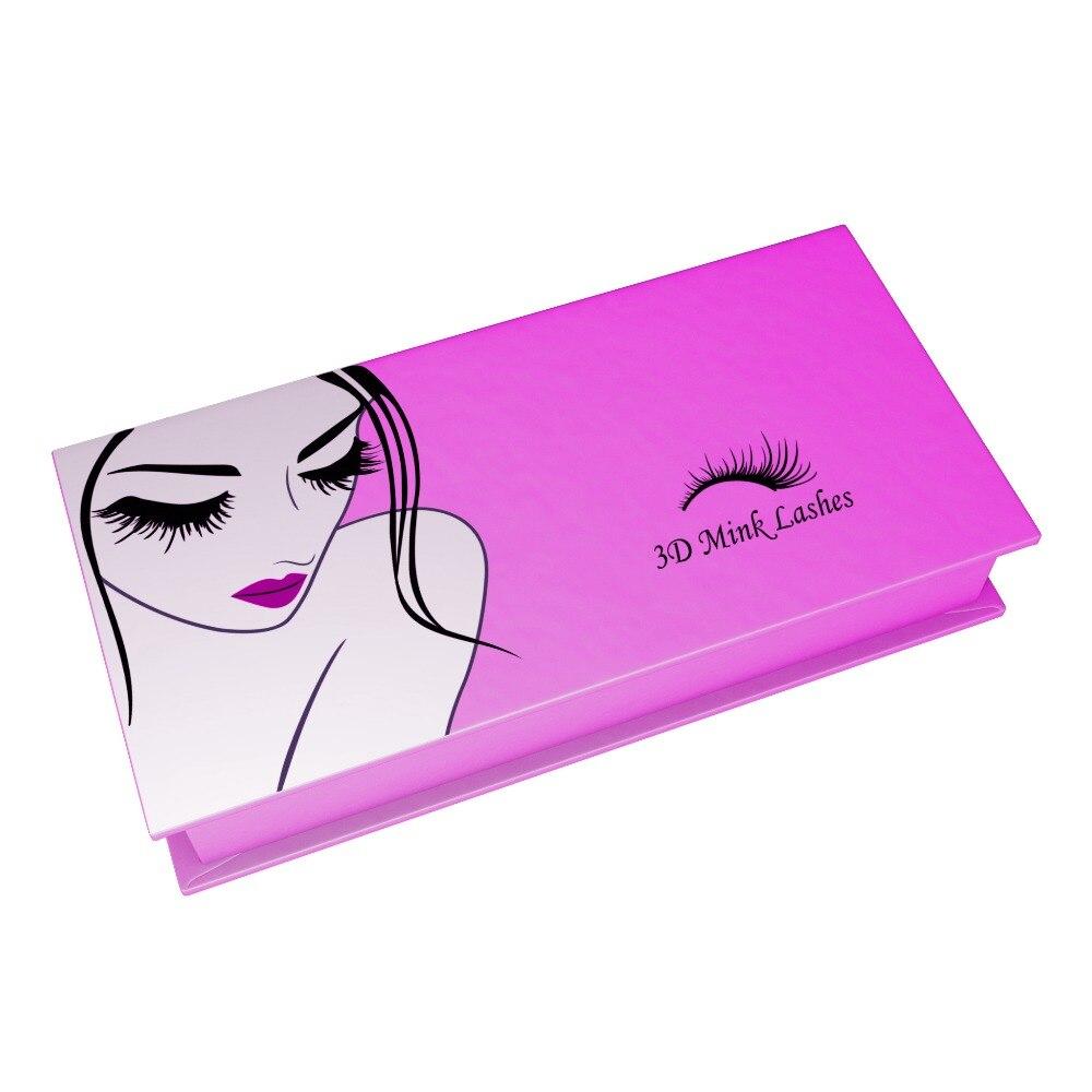Mangodot ресницы Коробки настроить чехол для хранения 500 шт косметички Подарочная коробка на магнитной застежке False Lash упаковки макияж инструме