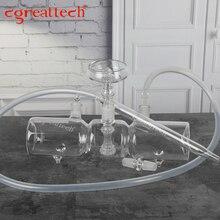 Clear Borosilicate Hookah shisha C.great Glass hookah
