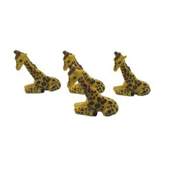 wholesale  Original Bulks Mini Cute Giraffe Animal   kids toys  100pcs/ a lot