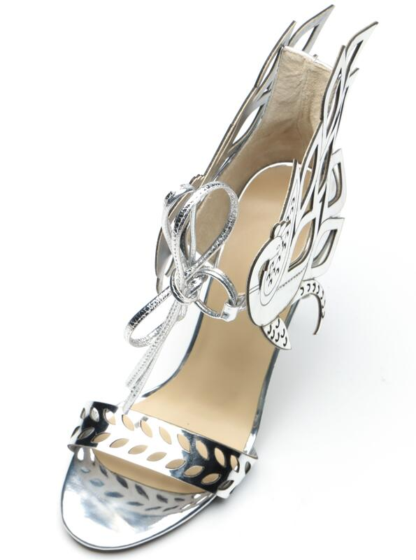 Chaussures Ailes Nouveau Sandales Mince Femelle Toe Pic Parti de Talons Ouvert 2018 Motif Lace Gladiateurs Femmes Rome up Mode As Mariage anwqWd6xp4