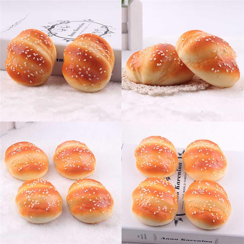2018 nowy Kawaii Squishy bułki chleba udawaj, że bawisz się w kuchni zabawki fragrancy kształt Marshmallow kok zabawki