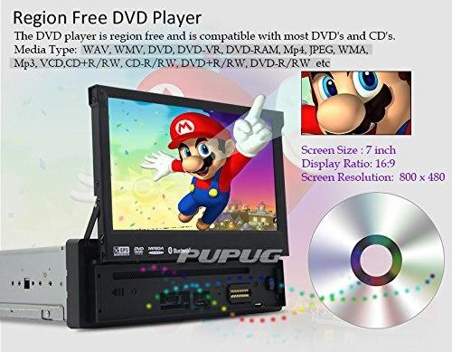 7 дюймов GPS стерео в тире Навигационная медиа dvd-плеер один-din usb/sd/ MP3-плееры приемник Bluetooth автомобиля