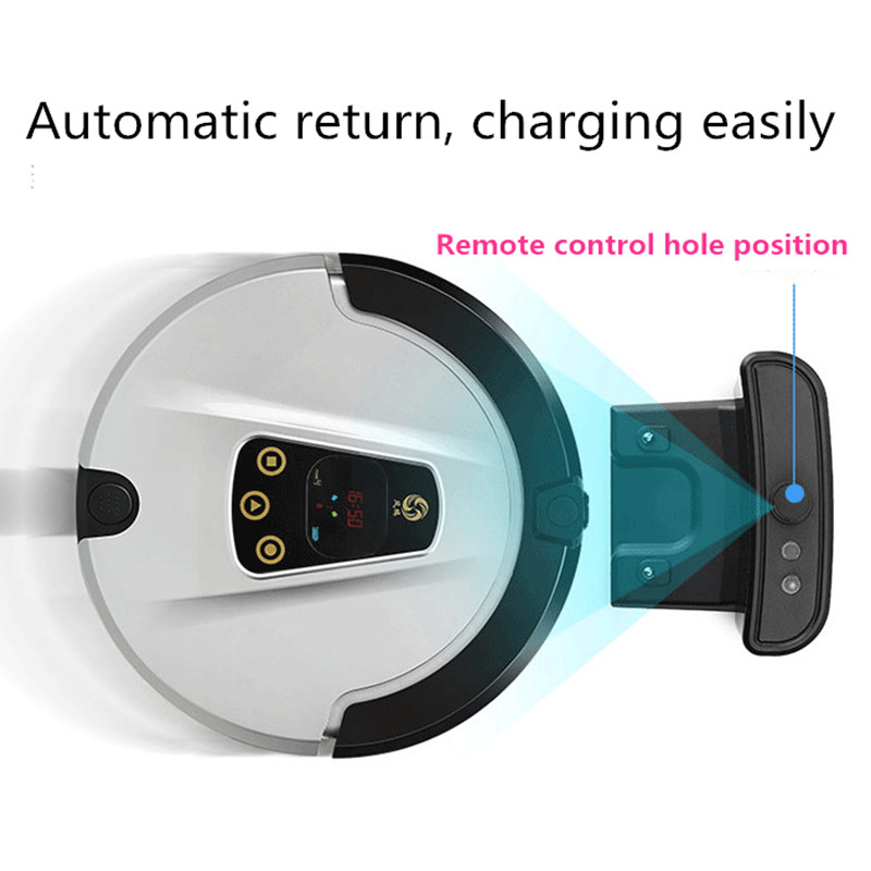 LUCACI mopping,sweeping and suction type vacuum cleaner robot free shipping
