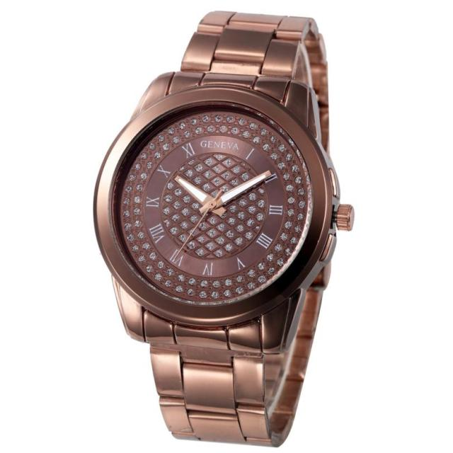 2018 Hot Sale Wrist Watch Women Top Brand Stainless Steel Strap Watch Fashion Ca