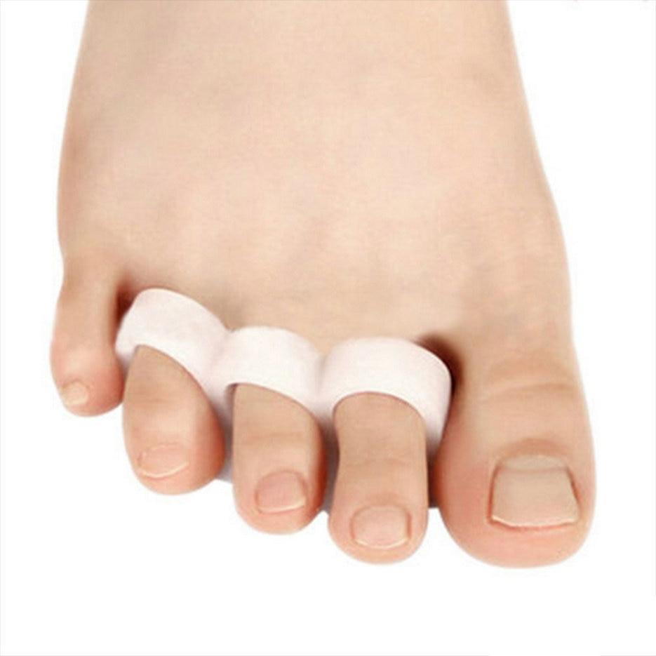 1Pair Feet Care Toe Orthotic Thumb Hallux Valgus Orthopedic Metatarsal Crooked Overlapping Toe Corrector crooked