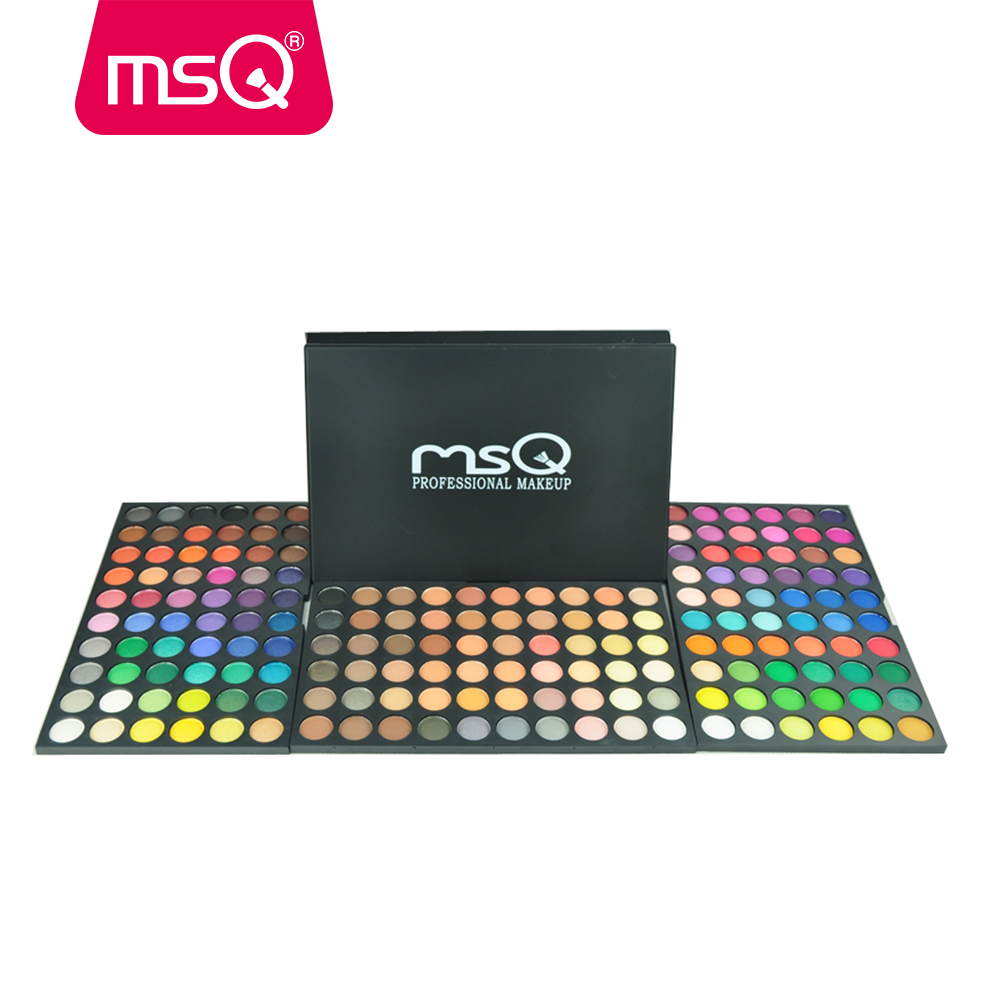 MSQ Professional Gorgeous 180 Color Eyeshadow Palette Easy Makeup Eye Shadow Palette Warm Color магнитный браслет colantotte magtitan color palette