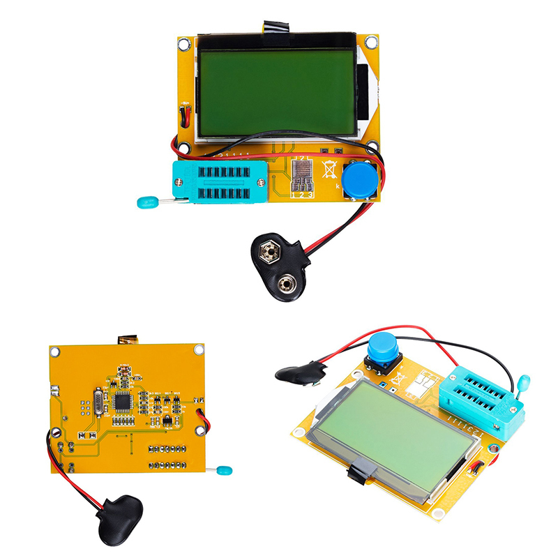 V2 68 ESR-T4 Mega328 цифровой Транзистор тестер Диод Триод