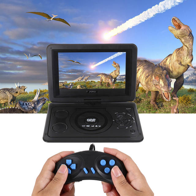 US $62 68 |Portable Mini DVD Player EU Plug 13 9inch HD TV Movies LCD  Mobile Swivel Usb Screen Rotation Car Multi Media Game Play-in DVD & VCD  Player
