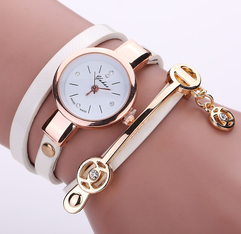 Luxury Leather Quartz Watch Women Ladies Crystal Fashion Bracelet Wrist Watch Clock relogio feminino leopard braided female 8O77 watch women fashion golden women s wrist watch top luxury brand lady casual quartz clock female bracelet watch relogio feminino