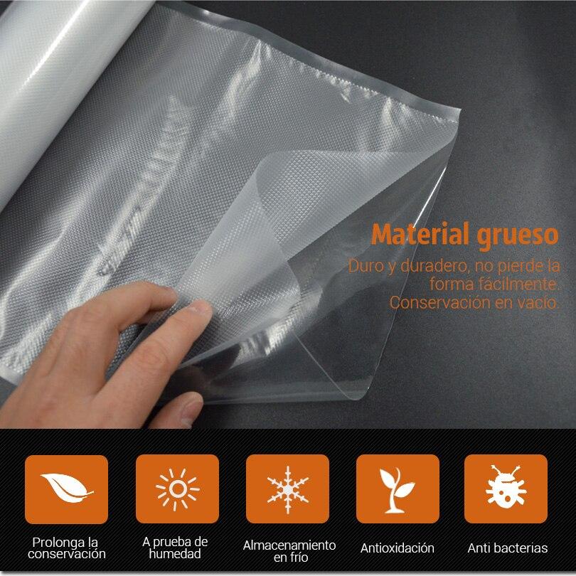 TINTON LIFE 28cmx500cm / Roll Vacuum Sealer Food Saver Bags - Συσκευές κουζίνας - Φωτογραφία 4