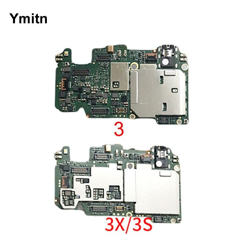 Ymitn Mobile Électronique panneau carte mère Carte Mère débloqué avec puces Circuits flex Câble Pour Xiaomi RedMi hongmi 3 3 s