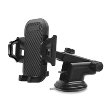 купить Universal Car Mount Phone Holder 360 Adjustable Windshield Retractable Car Cell Phone Holder For iPhone Samsung в интернет-магазине