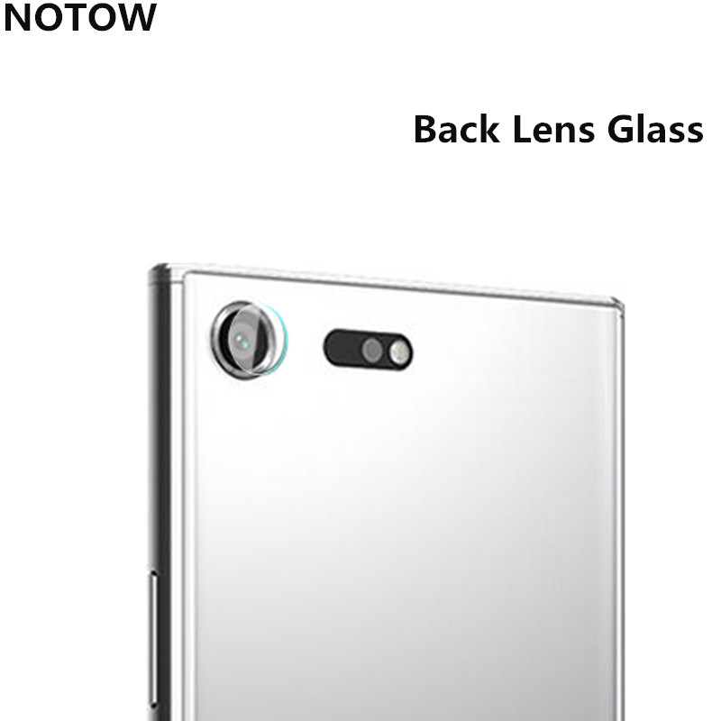 NOTOW flexible Rear Transparent Back Camera Lens Tempered Glass Film Protector Case For Sony Xperia XZ/XZs