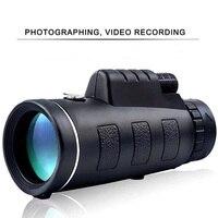 40X60 Portable mini Monocular Telescope Night Vision High Clarity Zoom Great Handheld Binocular