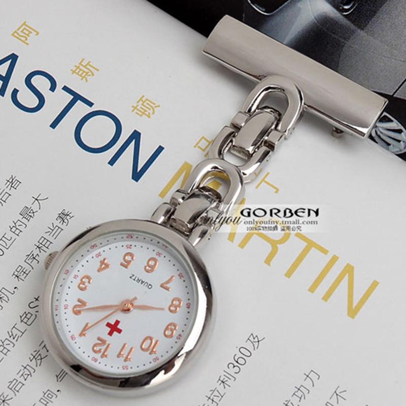 2017 New Nurses Watch Dial Round Women Pocket Watches Clip-on Hanging Brooch Quartz Pocket Watch Ladies Watches Small Clock P374 nurses pocket drug guide 2012