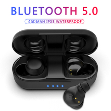 Hestia Tws Bluetooth Earphones 5.0 Mini Sport Wireless Headset Hifi Stereo Bass Earbuds with Charging Earphone Microphone цены