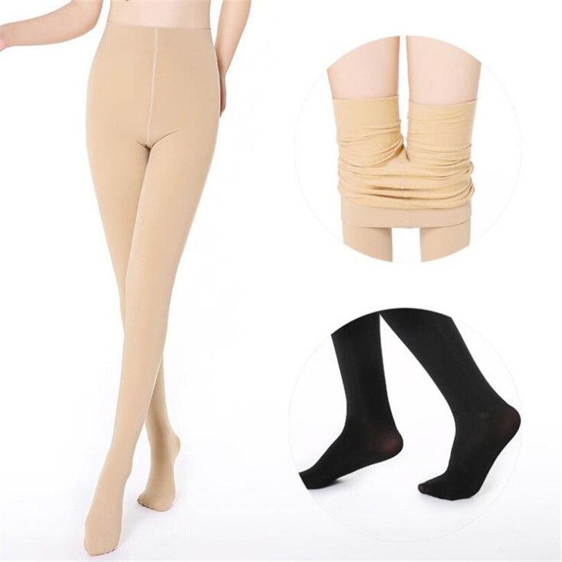 NDUCJSI Women   Leggings   Faux Velvet Knitted   Legging   New Casual Warm Thick Slim Women Skin Black Legins Woman Solid Winter Leggins