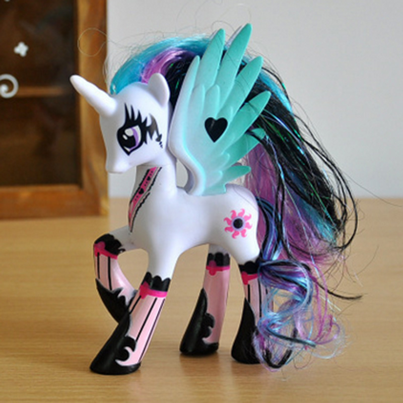 17 Kinds Cute Horse Princess Action Figures,14CM Figure Collectible Toys,Beautiful Children Model Toys Gift