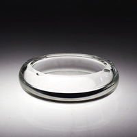 01 9 5 9 5 2 3CM Pure Hand Make Crystal Ashtray Decorations Crystal Crafts High