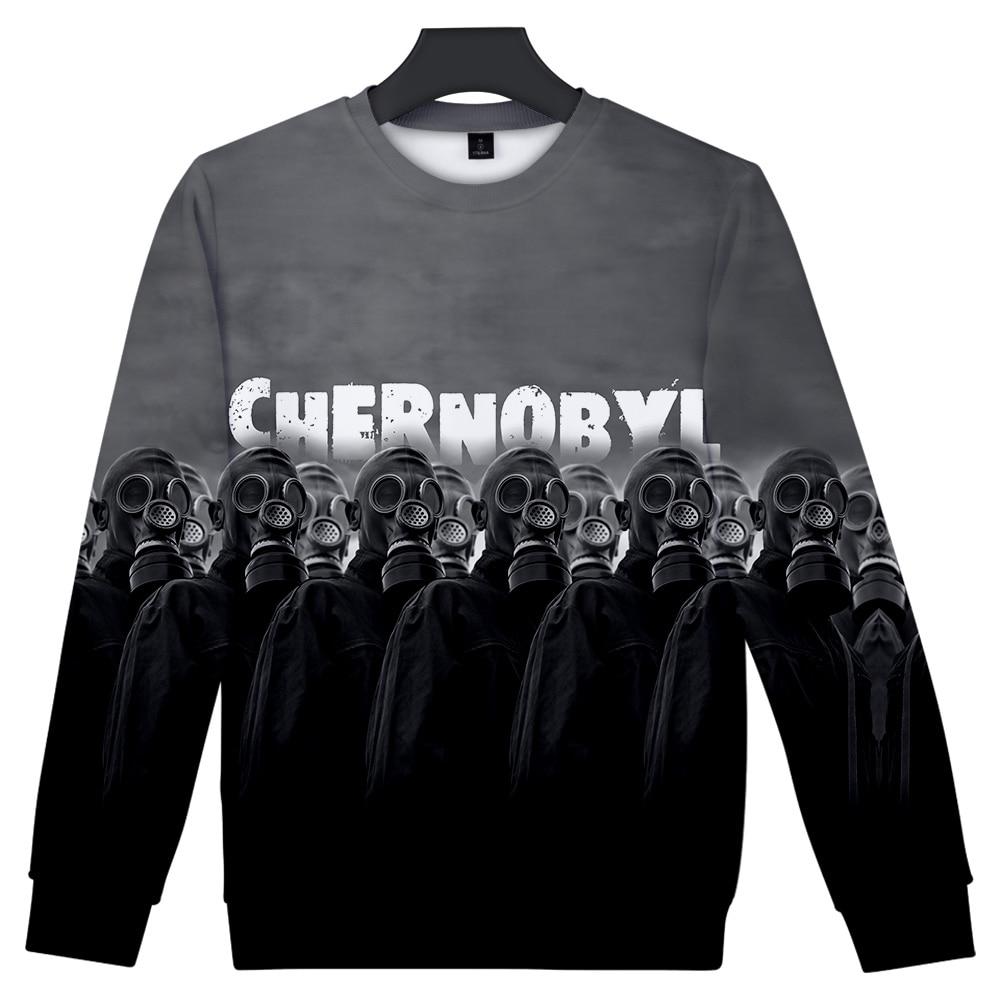 2019 Chernobyl Streetwear Hoodies Men O-Neck Long Sleeves Cotton Harajuku Chernobyl Sweatshirt Spring Hoody For Men