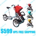 Taga bike stroller Baby tricycle mom travel bicycle poussette 3 in 1 triciclo