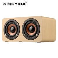 XINGYIDA Portable HiFi Wireless Bluetooth Speaker Dual Speakers Shock Bass Loudspeakers Caixa De Som Soundbar For