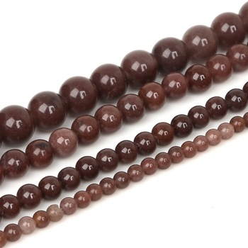 4 6 8 10mm Natural Stone Beads Matte Lava Tiger Eye Red Black Onxy  Loose Stone Beads For Jewelry Making DIY Bracelet Necklace 30
