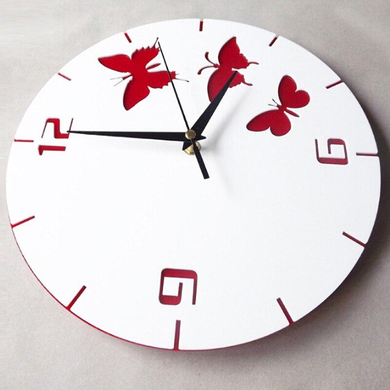 2017 new wall clock large decorative clocks reloj de pared for Stickers para pared