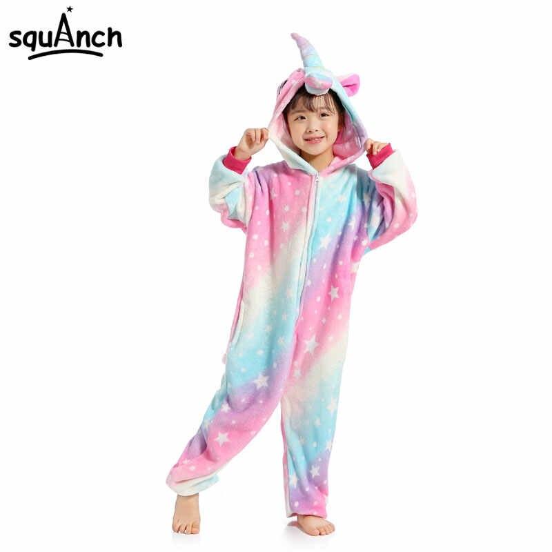 ... Новый Единорог Kigurumi Onesie малыш пижамы животных мультфильм Rainbow  Star мечтать ab0b09402b692
