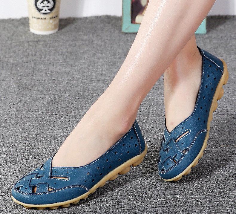 AH1165 (9) Women's Loafers Shoes