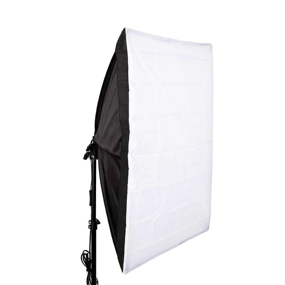 Photo Studio Acessó 50cm * 70 cm/19.7 de polegada * 27.6 polegada lâmpada Única Fotografia suave caixa com 2m estande luz