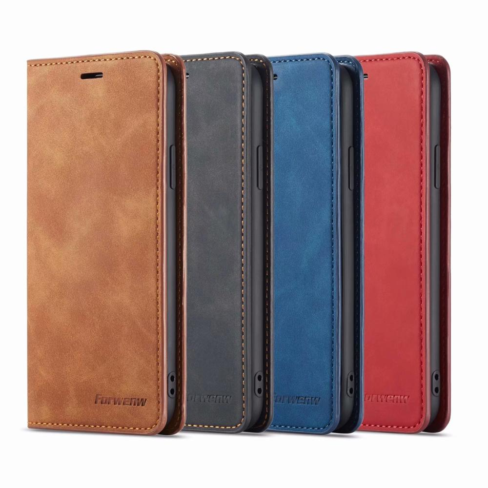 Luxury Magnetic Leather <font><b>Case</b></font> For iPhone 5S 5E 6S 7 8 Plus Flip Wallet iPhone X XR XS MAX Protection <font><b>Card</b></font> Holder Stand Back Cover image