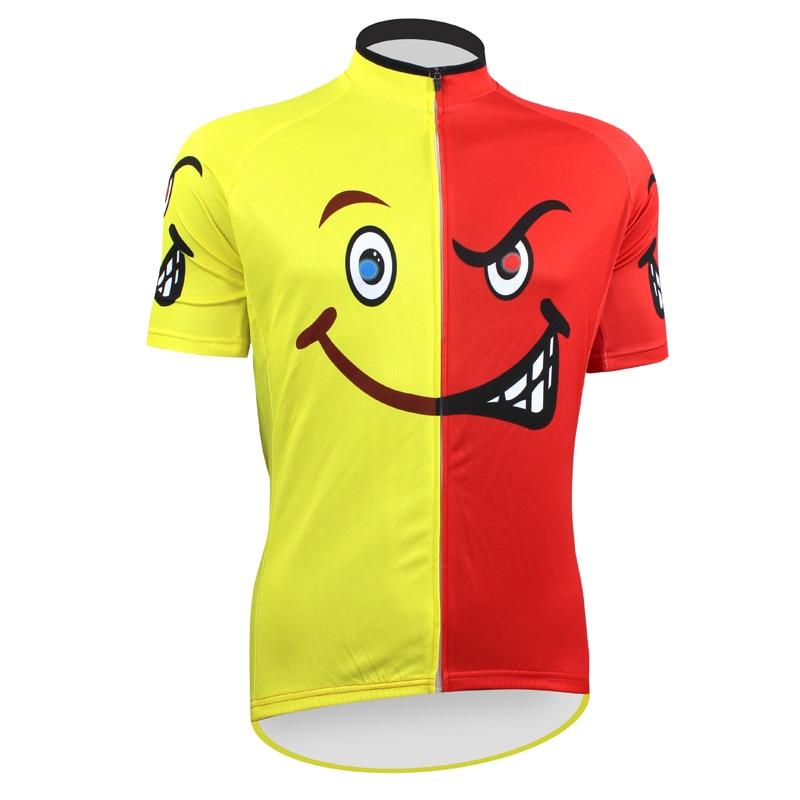Цена за Честный чужой спортивная одежда мужские езда на велосипеде джерси езда на велосипеде одежда велосипед рубашка размер 2XS к 5XL