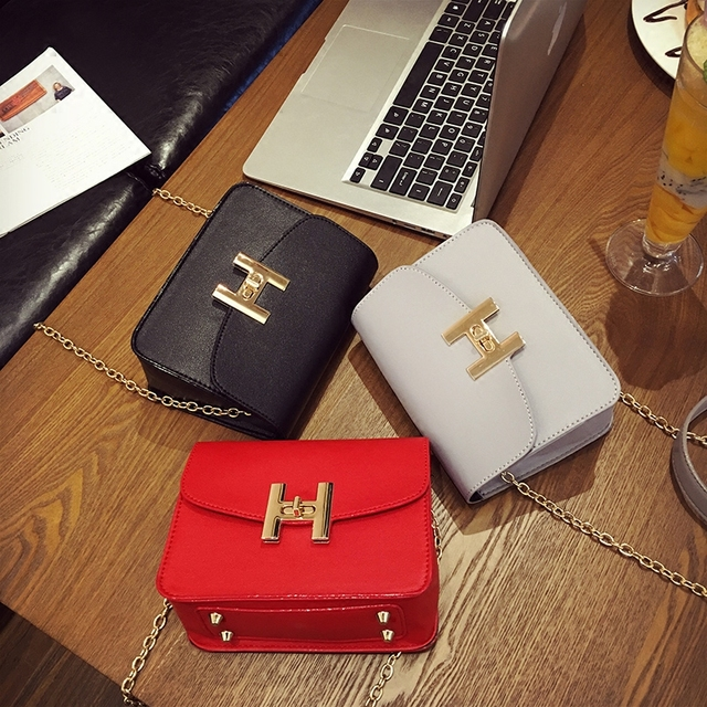 Free shipping, 2018 new trend women handbags, fashion simple flap, retro Korean version shoulder bag, chain woman messenger bag.