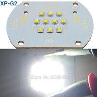 Cree XLamp XP-G2 XPG2 50 Вт 10 светодиодов холодный белый высокой Мощность свет многокристальных свет реветь свет лампы DC30-36V 1500mA 5000LM
