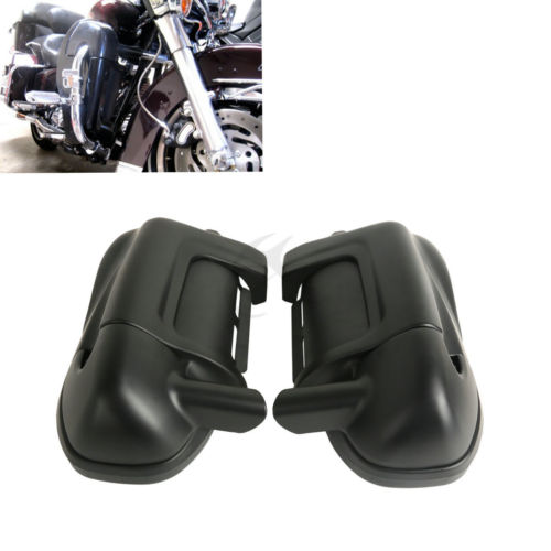 TCMT Motorcycle Lower Vented Fairing For Harley Touring Electra Street Glide Road King FLT FLHT FLHX FLHR Matte Black Chrome 6 1 2 6 5 audio speakers w glove box for harley touring electra street glide flt flht flhx flhtcu flhrc vented lower fairing