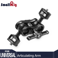 SmallRig Quick Release Articulating Arm with Double Ballheads 1/4 Screw Adjustable Light Weight Adapt For Monitor Support 2070