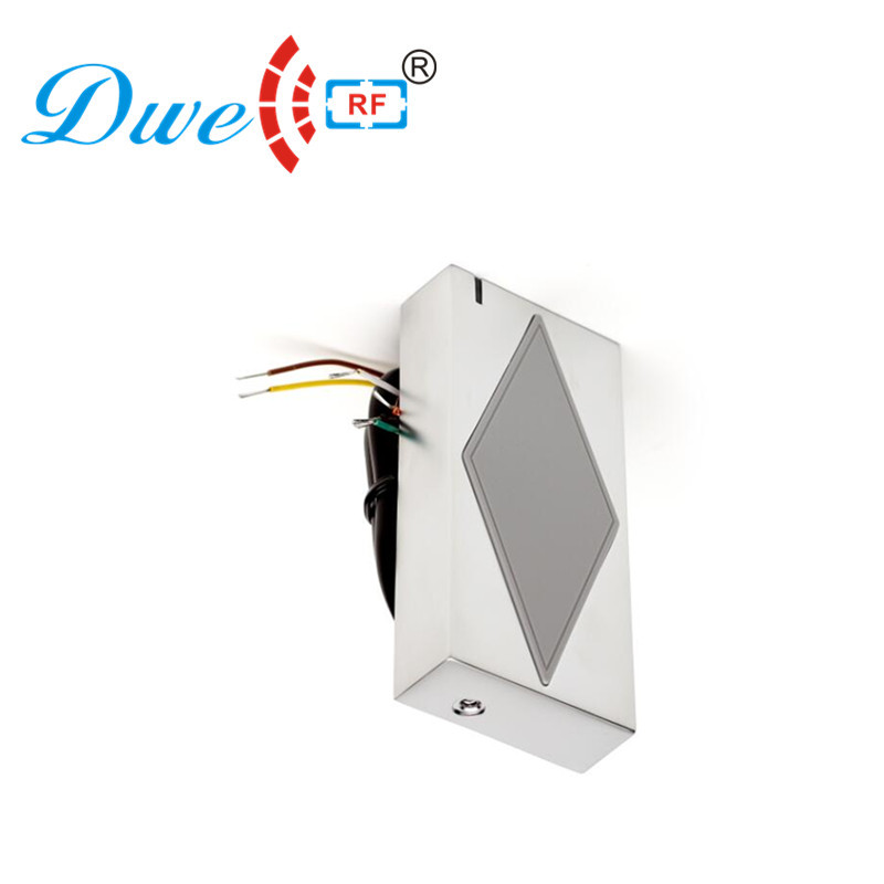 DWE CC RF control card readers waterproof 13.56mhz ic wiegand 34 card bluetooth rfid reader for android phone