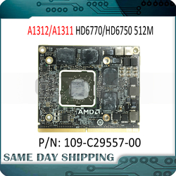 Original para iMac 21,5 A1311 27 A1312 Radeon HD6750M HD6750 HD6770M HD6770 109-C29557-00 tarjeta gráfica de vídeo VGA tarjeta GPU