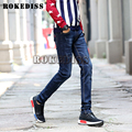 2016 Mens Fashion Straight Jeans Classic Denim Dieselers Trousers Fall Winter Men Jeans High Quality Cotton Jeans Men Slim C044