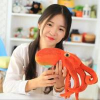 The Octopus Octopus Brother Pillow Doll Plush Toys Funny Squid Doll Children S Day Gift33CM