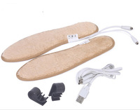 Powered Heated Insoles With Usb Heating Self Warming Plantillas Calefactables Foe Man And Women Shoes Electric