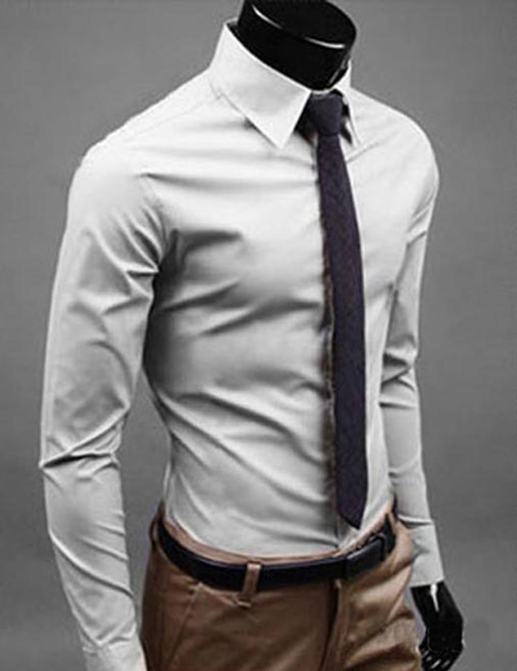 Business Casual Shirts Mens